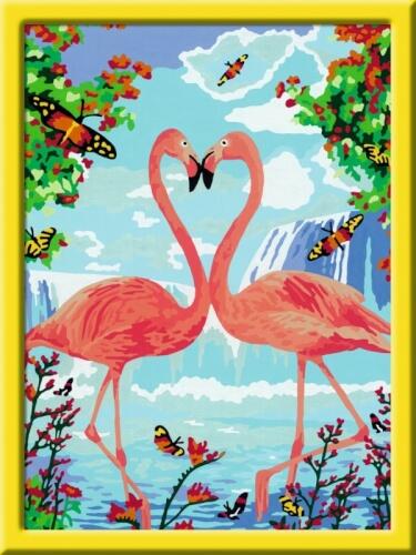 Ravensburger 289011 Malen Nach Zahlen Serie C Flamingo Love 289011