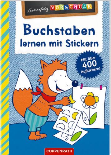 Lernerfolg Vorschule Buchstaben Lernen Mit Stickern 62316 Jetzt