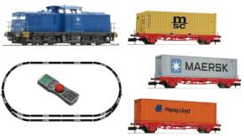 N Digitales Startset: BR 204 mit Containerzug, PRESS