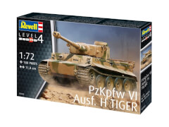 REVELL 03262 Modellbausatz PzKpfw VI Ausf. H TIGER 1:72, ab 12 Jahre