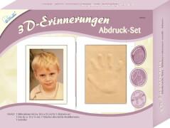 3D-Erinnerungen Abdruck-Set Bilderrahmen. für Kinder ab 3 Jahre.
