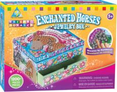 Sticky Mosaics: verzauberte Pferde Box