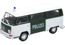Welly Volkswagen T2 Bus Polizei 1:24