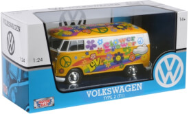 VW T1 Lieferwagen Flower Power, 1:24