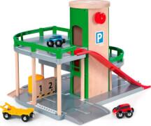 BRIO 63320400 Parkhaus, Straßen&Schienen