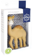 Al'Thir, das kleine KamelEin Spielzeug für Babys aus Naturkautschuk.Als Willkommensgruß und Talisman zur Geburt ist Al'T