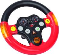 BIG Bobby-Car Lenkrad ''Multi-Sound-Wheel'', Kunststoff, schwarz-rot, ab 12 Monate