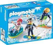 Playmobil 9286 Freizeit-Wintersportler