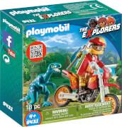 Playmobil 9431 Motocross-Bike mit Raptor