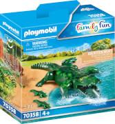 PLAYMOBIL 70358 Alligator mit Babys