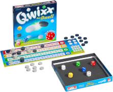 Qwixx - Das Duell - Türme bauen - Steine klauen! Würfelspiel