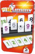 Schmidt Spiele 51281 MyRummy, Mitbringspiel in der Metalldose, 2 bis 4 Spieler, ab 8 Jahre