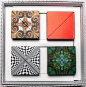 GeoBender® Cube 4er Geschenkbox ''Mixed''