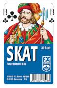 Ravensburger 27003 Klassisches Skat, Französisches Bild, 32 Karten Klarsicht
