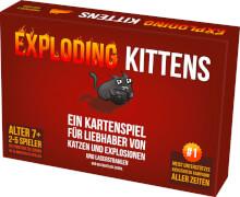 Exploding Kittens, Kunststoff, ab 7 Jahren, 2-5 Spieler