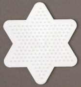 HAMA 270 Bügelperlen Midi - Stiftplatte kleiner Stern, ab 5 Jahren