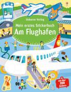 Mein erstes Stickerbuch: Am Flughafen