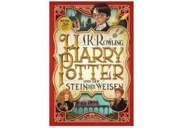 Harry Potter - Teil 1: Harry Potter und der Stein der Weisen, Hardcover, 336 Seiten, ab 10 Jahre