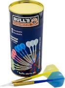 Bull's Dart Röhre 12 Softdarts farbl sortiert