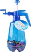 Splash & Fun Wasserbomben-Pumpe inkl. 150 Wasserbomben, blau