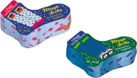 Magic Socks (2 Designs), sort. Weihnacht