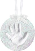Pearhead 50019 Glitzerabdruck Ornament rund