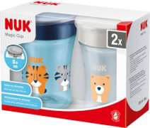 2er-Pack Nuk Magic Cup, 230 ml, ab 8 Monate