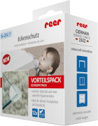 Vorteilspack Eckenschutz, transparent, 12 Stück