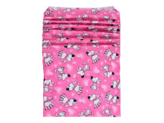 Multifunktionstuch Hunde pink